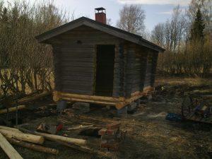 Sauna kengitetty
